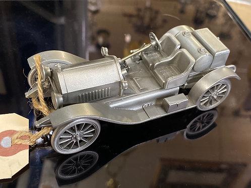"""Stutz Bearcat"" Pewter Model Cars"