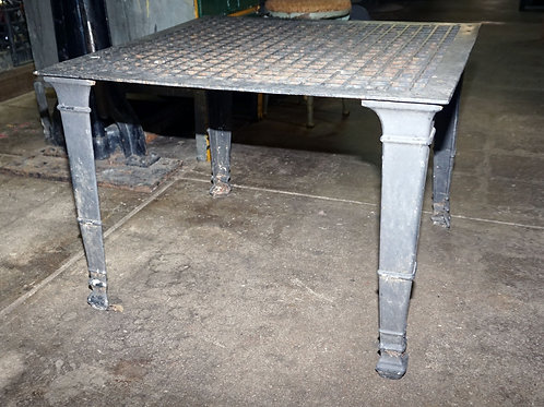 Iron Grate Coffee Table
