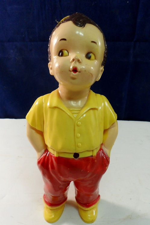 1950s Windup Georgie The Whistling Boy Toy