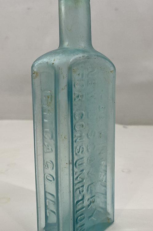 1890s Dr King's New Discover for Consumption Bottle