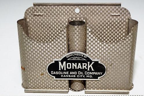 Advertising Razor - Monark Gasoline And Oil Co