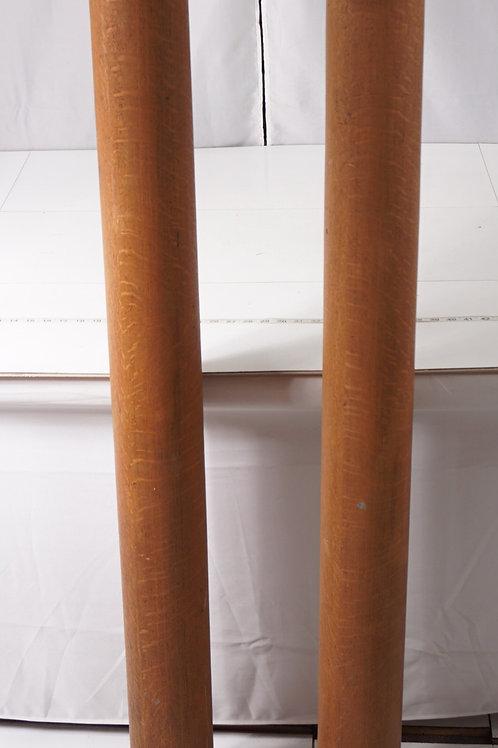 Pair of Oak Columns