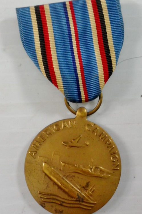 """WWII Military Medal """"American Campaign"""""""