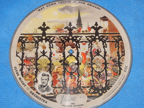 78 Vogue Picture Record - Clyde Mccoy and His Orchestra