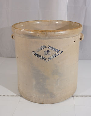10 Gallons Pittsburg Pottery Crock