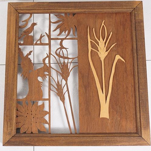 Wichita Kansas Commemorative Wood Carving