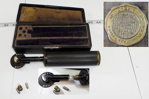 1920s De Zeng Otoscope With Original Case