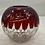 Thumbnail: 1893 Ruby Red Souvenir Glass