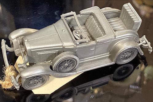 """1930 Model A Roadster"" Pewter Model Car"