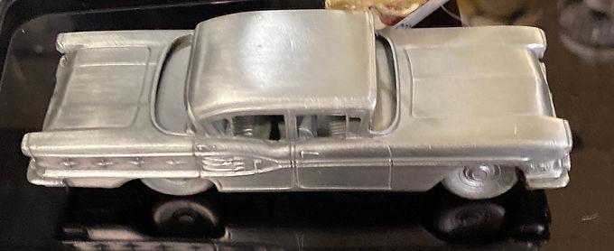 """1958 Pontiac Starchief"" Pewter Model Car Made in England"