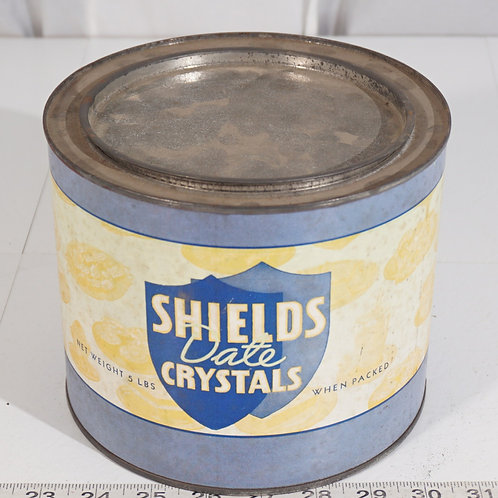 Shields Date Crystals Tin