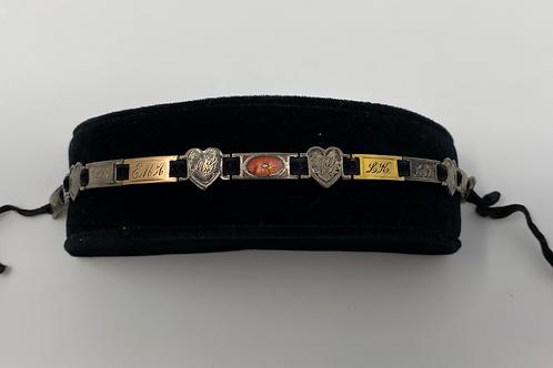 Victorian Ribbon Bracelet with