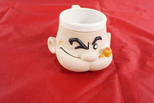 POPEYE Sailor Man Plastic Cup Mug