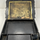 Thumbnail: 19th Century English Papier Mache Slope Box with Mother of Pearl Inlay