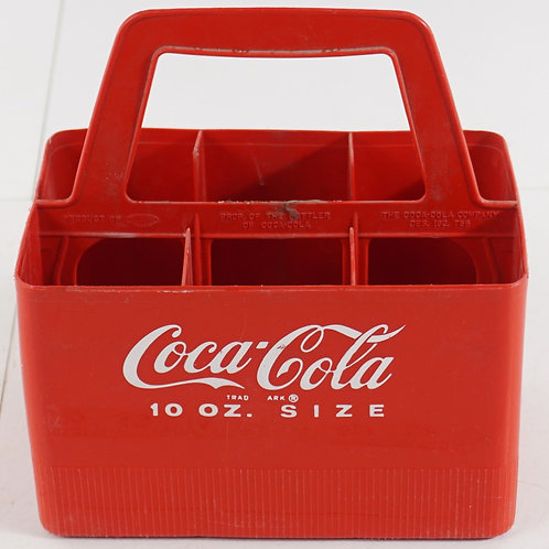 Coca-Cola 6 Bottles Carrying Case Ca 1970s