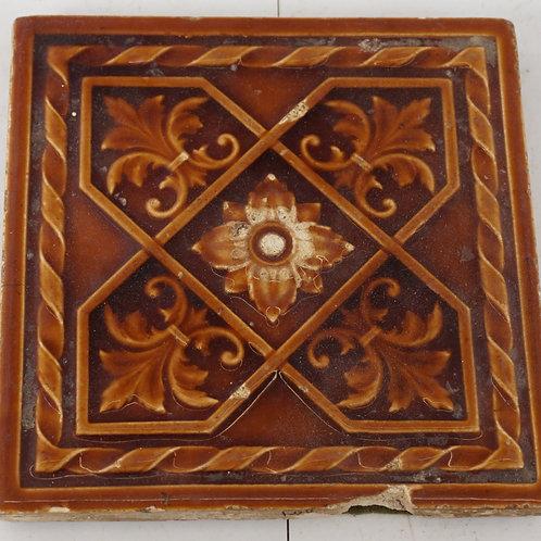 Ornate Ceramic Tile