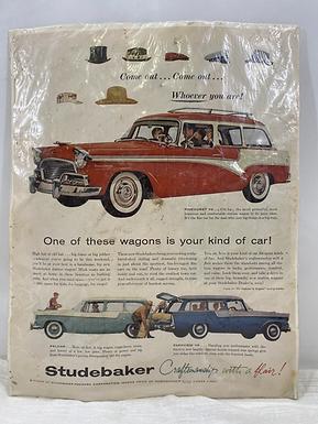 1956 Studebaker Pinehurst V8 Ad