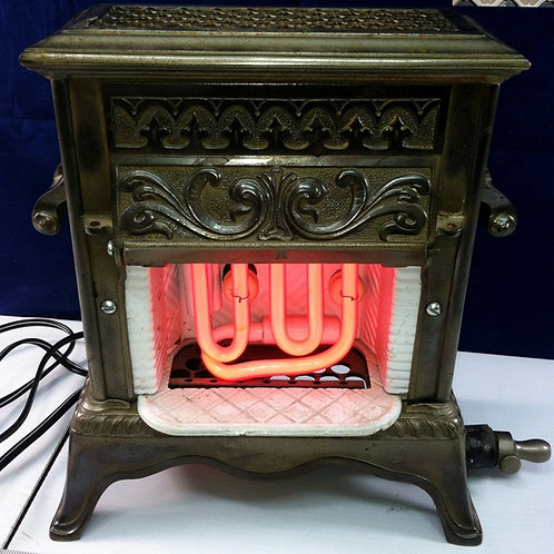 Mini Gas Fireplace Insert -Neon Converted