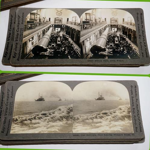 23 WWI Keystone Stereographs