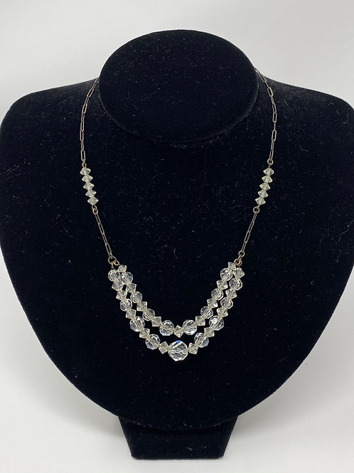 1920s Crystal Necklace