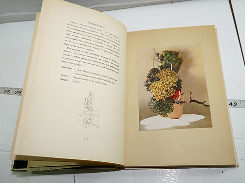 """Coloured Pictures of Flower Arrangements"" By Sofu 1957"