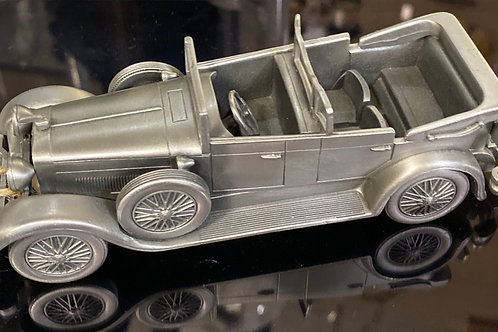 """""""1928 Lincoln Convertible"""" Pewter Model Car"""