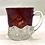 Thumbnail: 1904 Worlds Fair Ruby Red Souvenir Glass