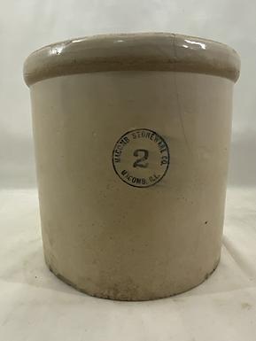 2 Gallon Macomb Stoneware Crock