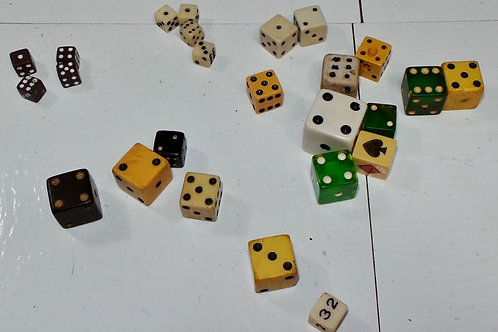 Lot of Mixed Dice