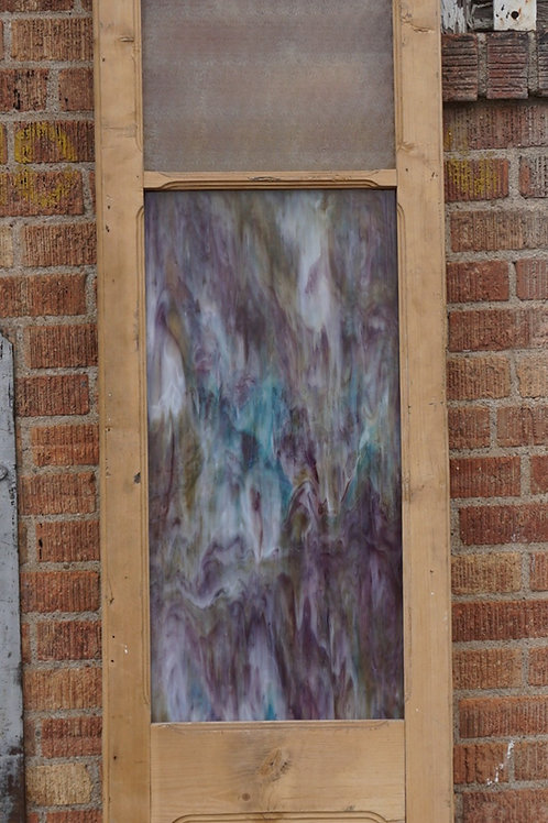 Stained Glass Sidelight Panel