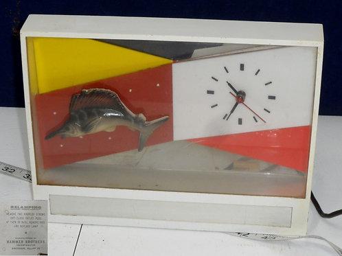 Hammer Brothers 1950s Beer Advertising Clock Works