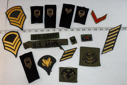 US Army Uniform Patches