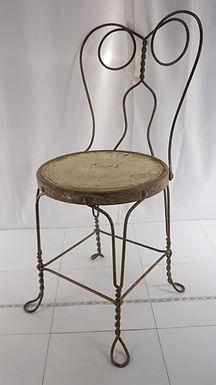 1900s Oak Ice Cream Chair