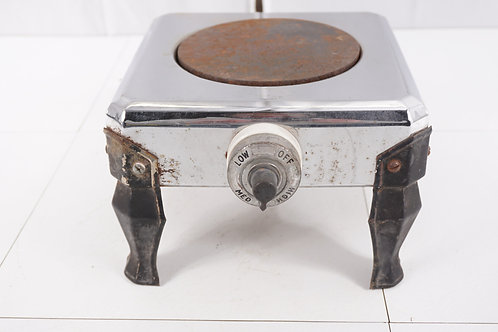 1940s Electric Single Burner Stove