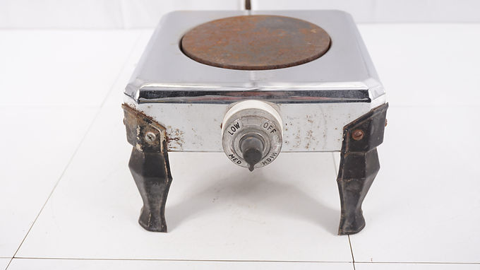 1940s Electric Single Burner Stove