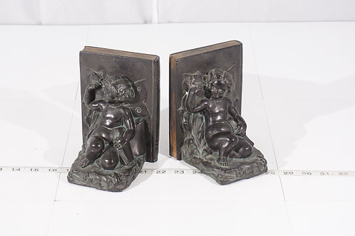 Bronze Fairy Bookends