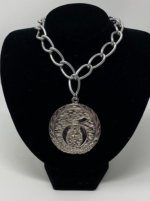 Vintage Shriner Necklace Large Chain
