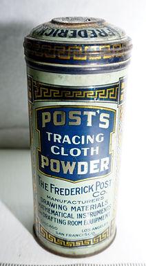 Posts Tracing Cloth Powder Tin