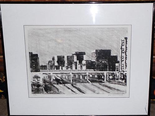 1994 Glasgon Print - Douglas Ave Bridge