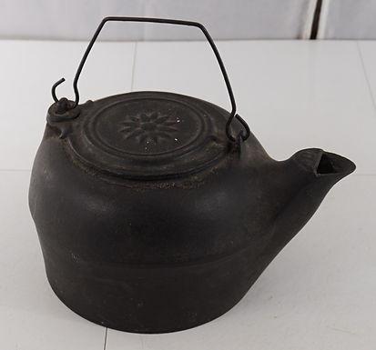 Cast Iron Coffee Pot No 8