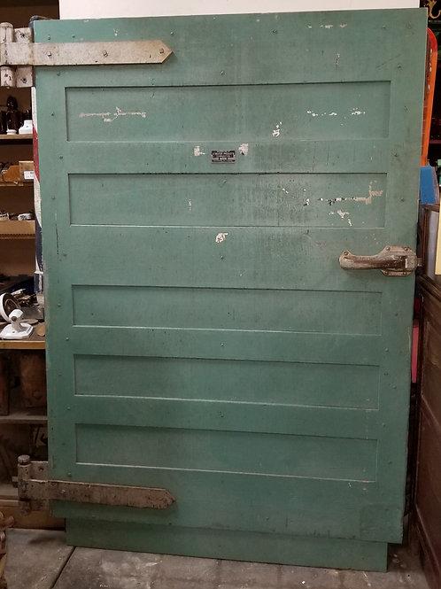 Wooden Industrial Freezer Door - Streator Products Corp