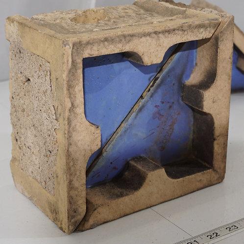 Set Of 4 Terracotta Corner Blocks