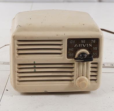 1946 Arvin Tube Radio Model 444 A H - Asis
