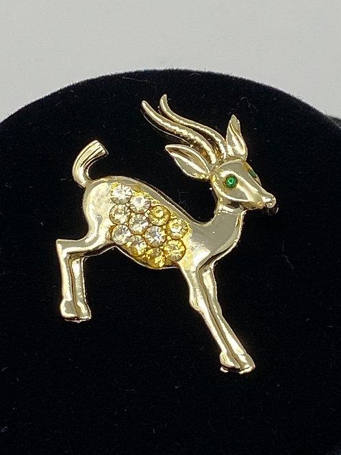 Vintage Antelope Pin