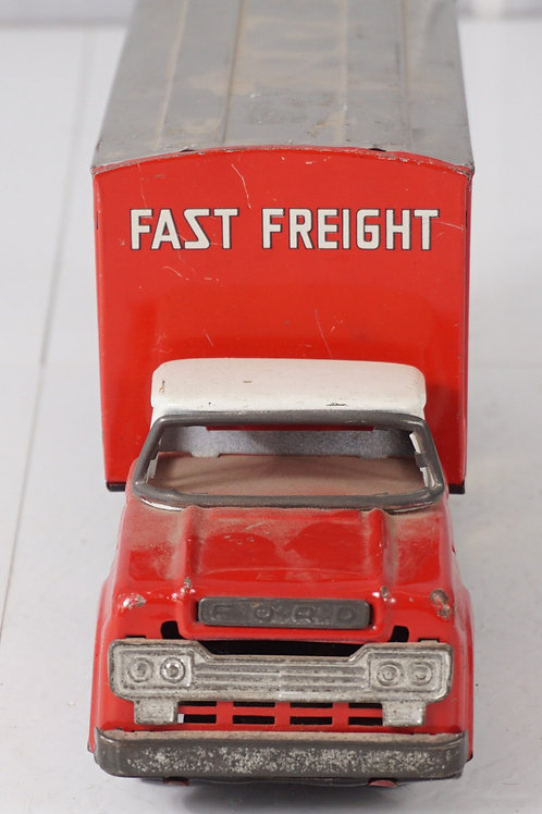 Litho Ford Truck Toy - Fast Freight Continental Express