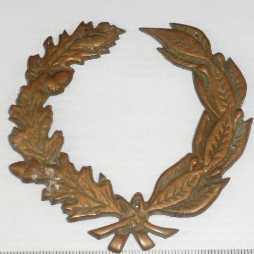 Brass Laurel Wreath