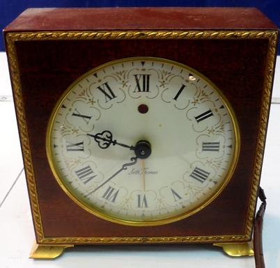1937 Seth Thomas Clock Model Poise E861-000 Works