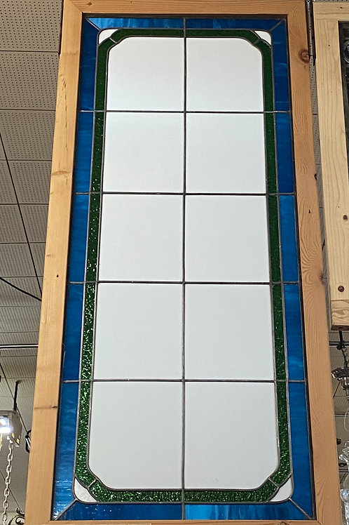 Stained Glass Window and Frame