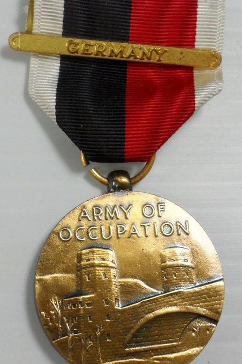 """WWII Military Medal """"Army of Occupation"""""""