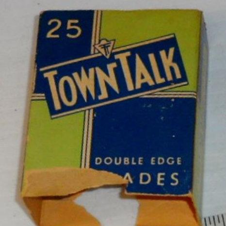 Vintage Town Talk Double Blade Razor Blades